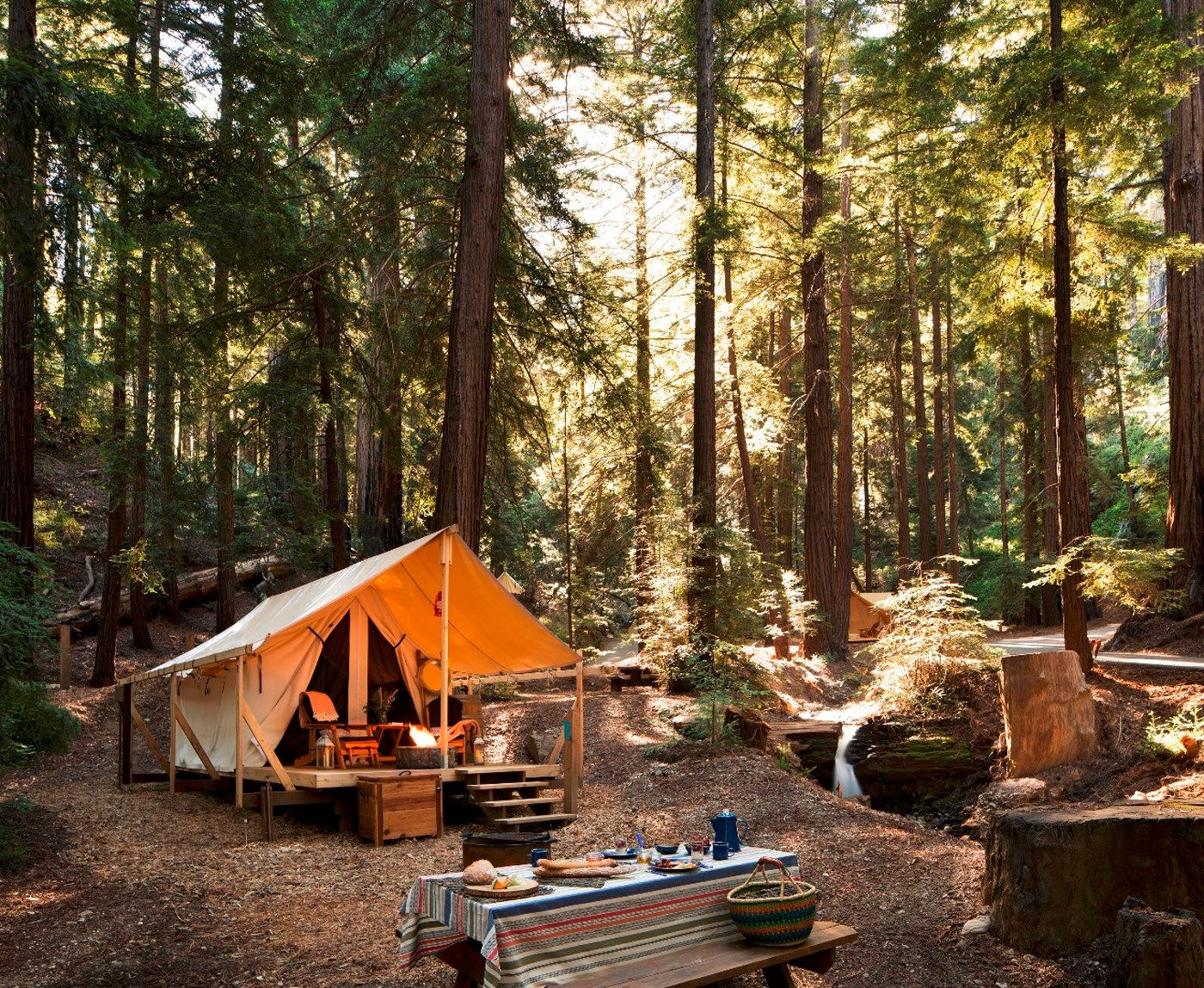 Let Big Sur S Luxurious New Glamping Set Up Fuel Your
