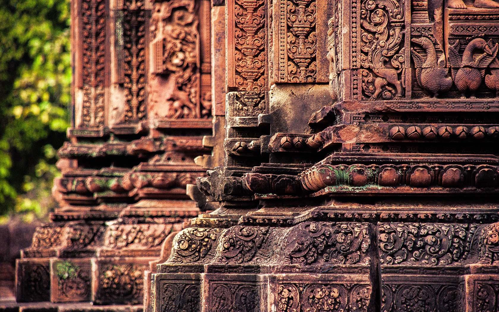 Angkor wat th wonder of the world angkor archeological park