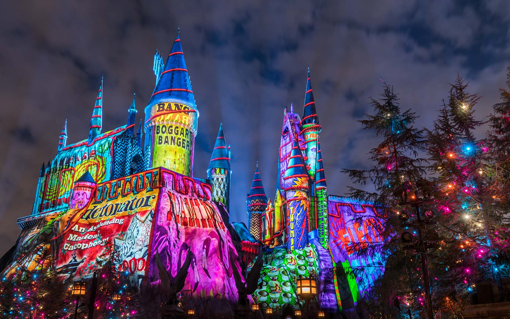 The Wizarding World Of Harry Potter Just Got A Magical Christmas Makeover