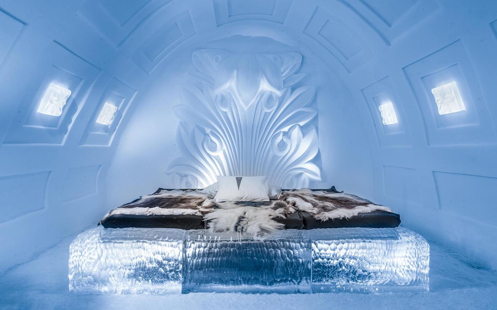 from finland to canada these are the world 39 s best ice hotels