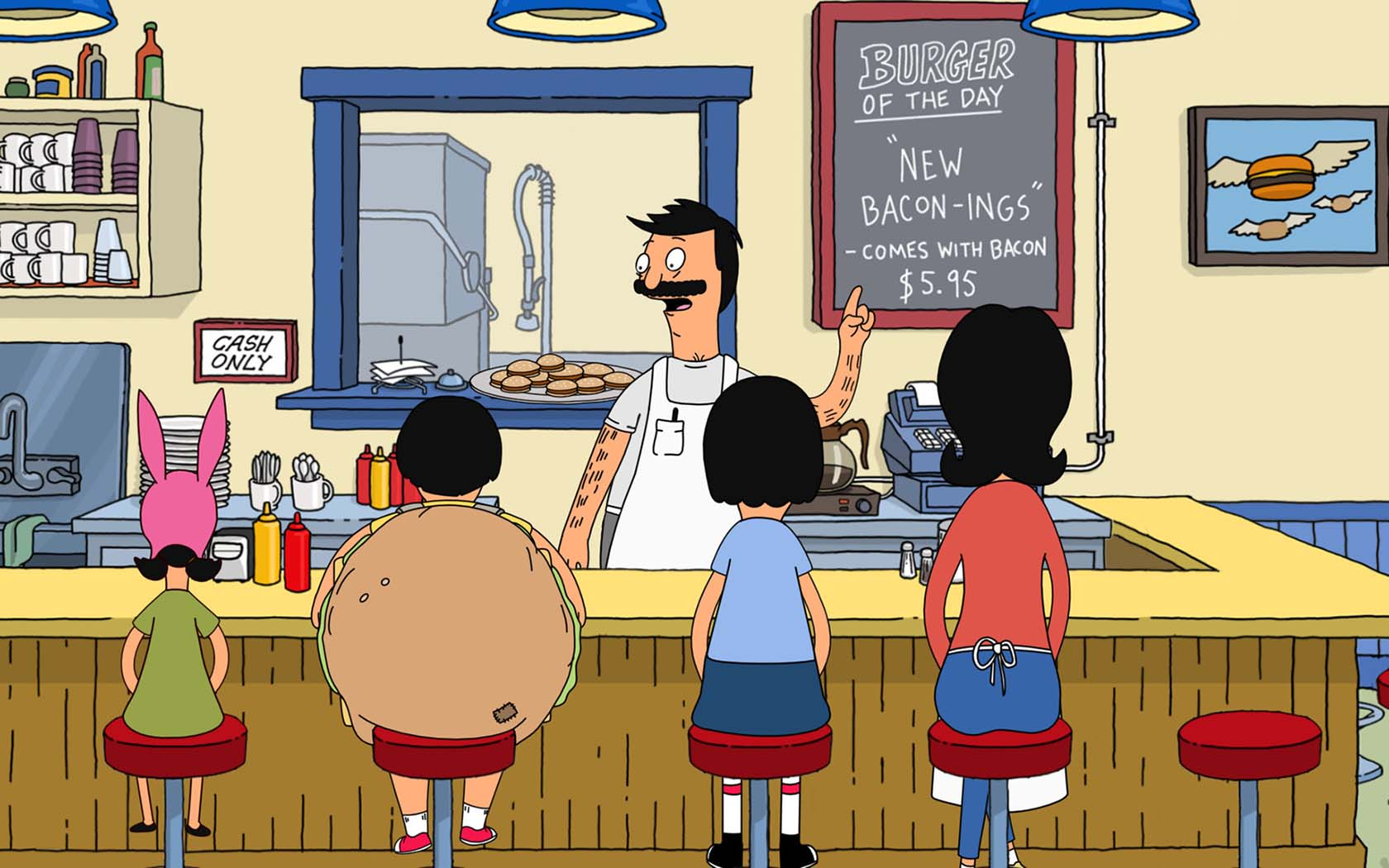 have you ever watched an episode of bobs burgers and wished you could demolish one of bob belichers signature dishes for yourself of course you have