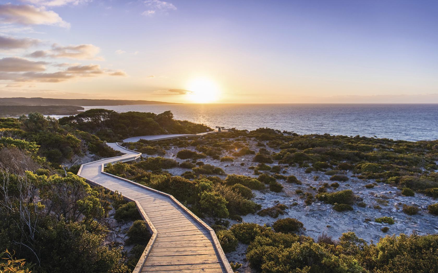 how to get to kangooroo island