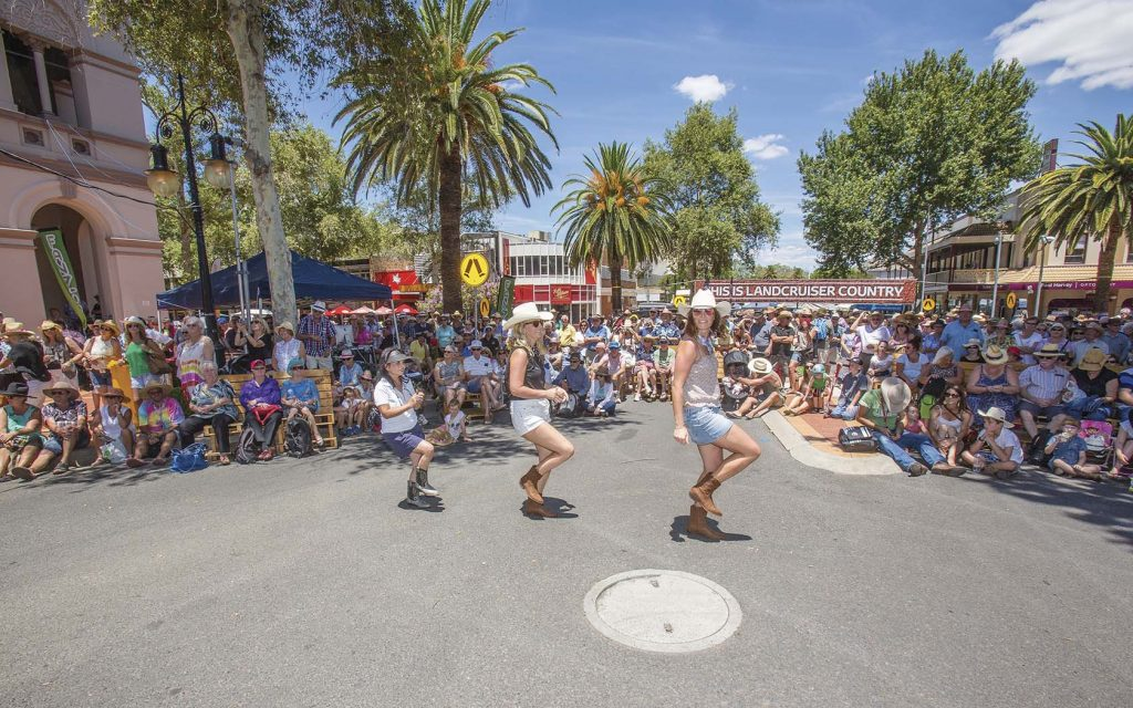 Tamworth Country Music Festival on Australia Day