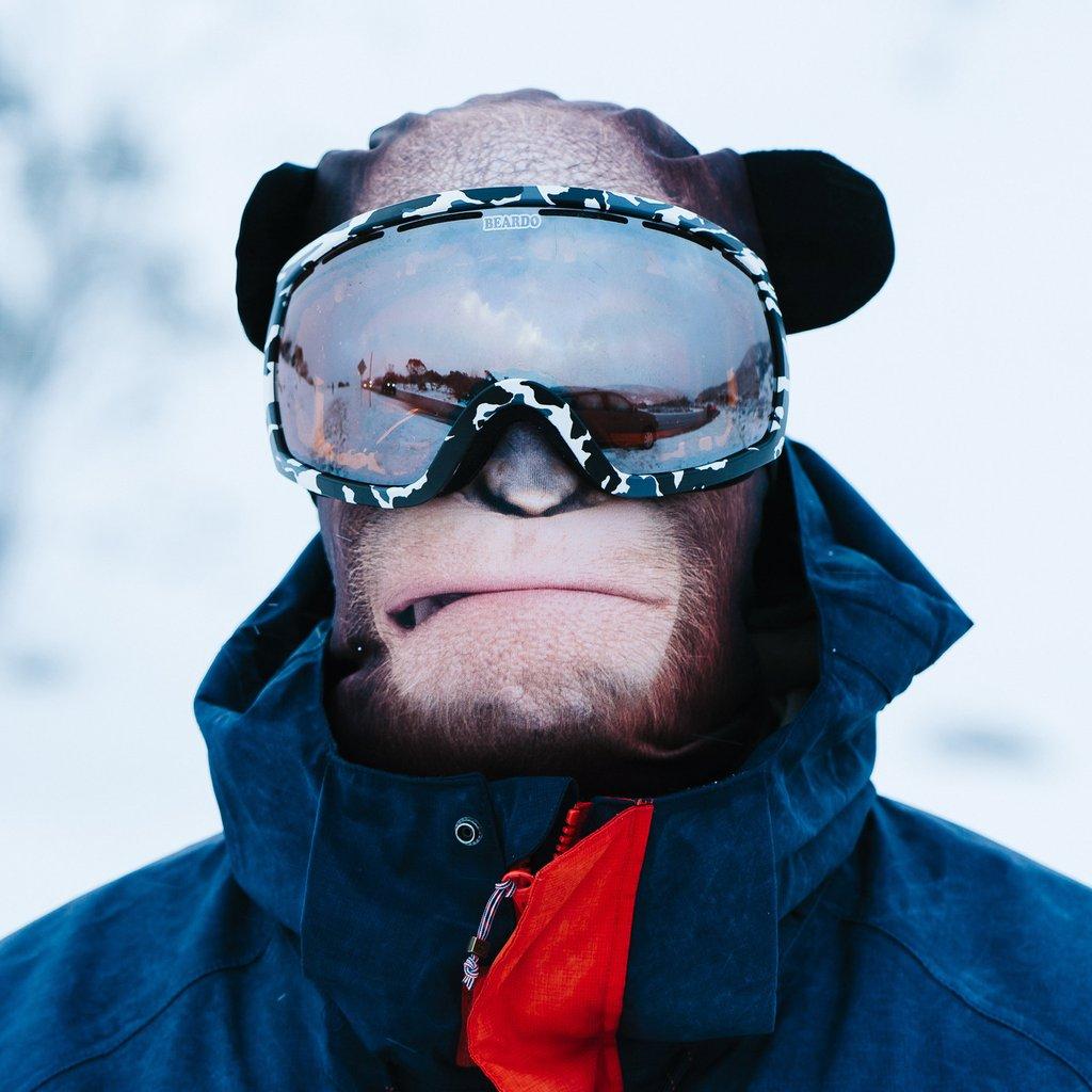 Hyper Realistic Ski Masks By Beardo Turn Skiers Into Real