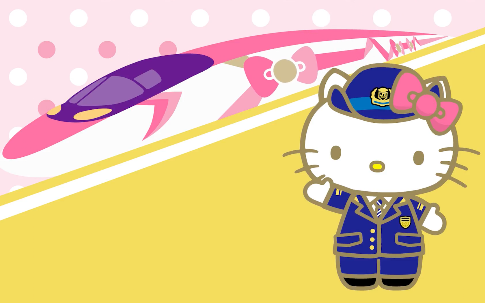 1c0f1d5b9 Japan Is Getting A Hello Kitty Bullet Train This Summer