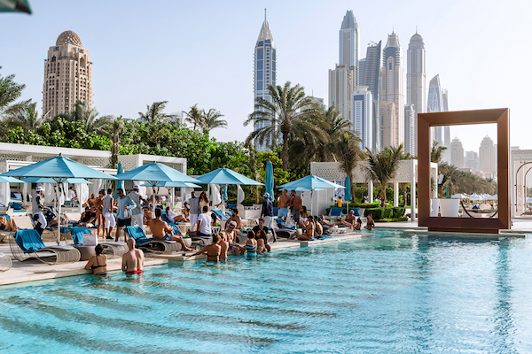 Dubai pool clubs are the freshest way to holiday - Egyptian club dubai swimming pool ...