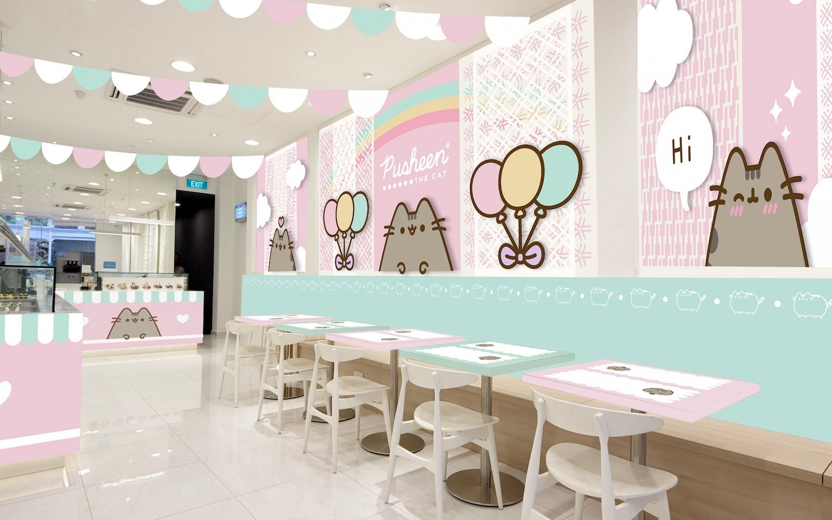 Worlds Greatest Cat Pusheen Gets Her Own Cafe In Singapore