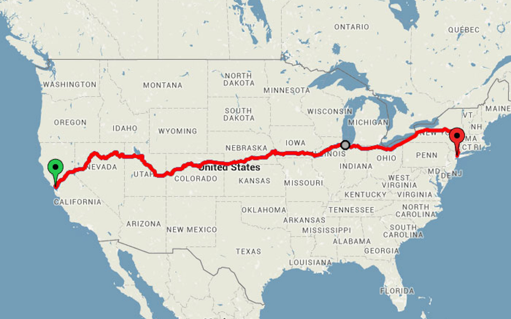 Amtrak Train Takes You From California to New York For Cheap on