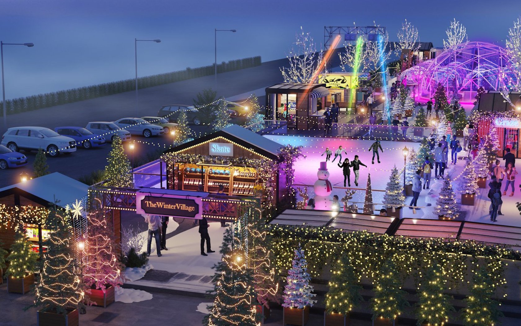The Winter Village Is Transforming Melbourne Into A Winter