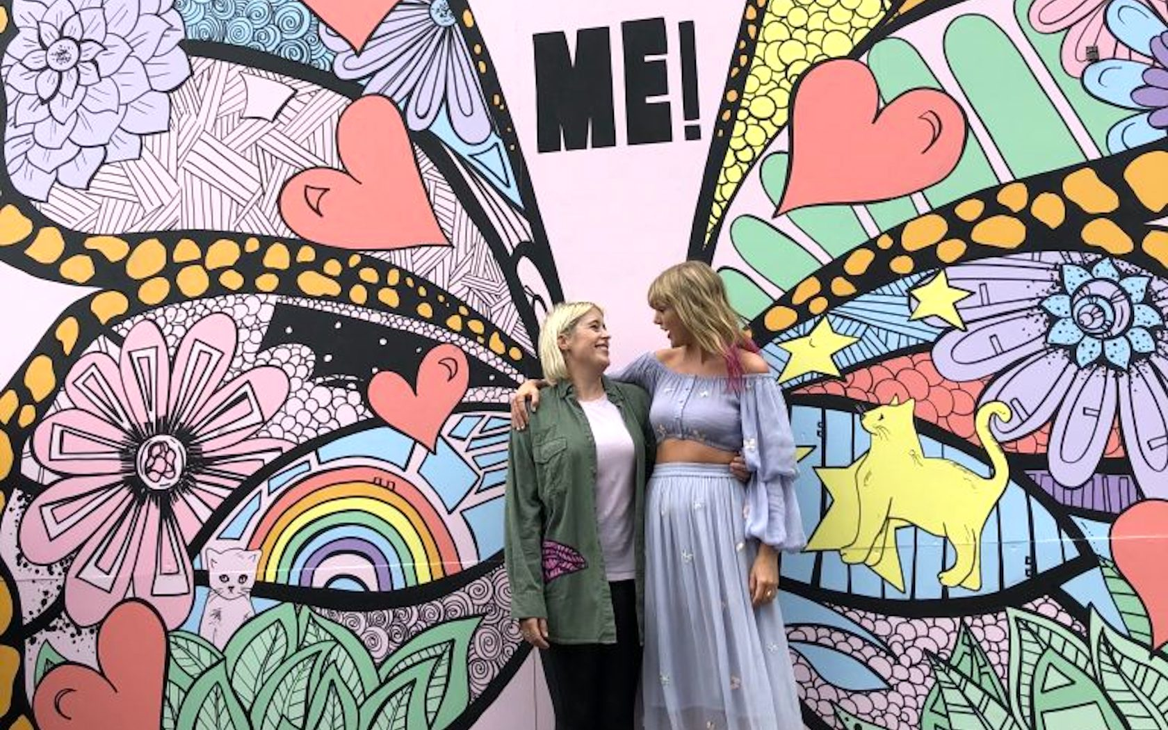 Kelsey Montague Painted Taylor Swift S Me Wall And Many Other Murals