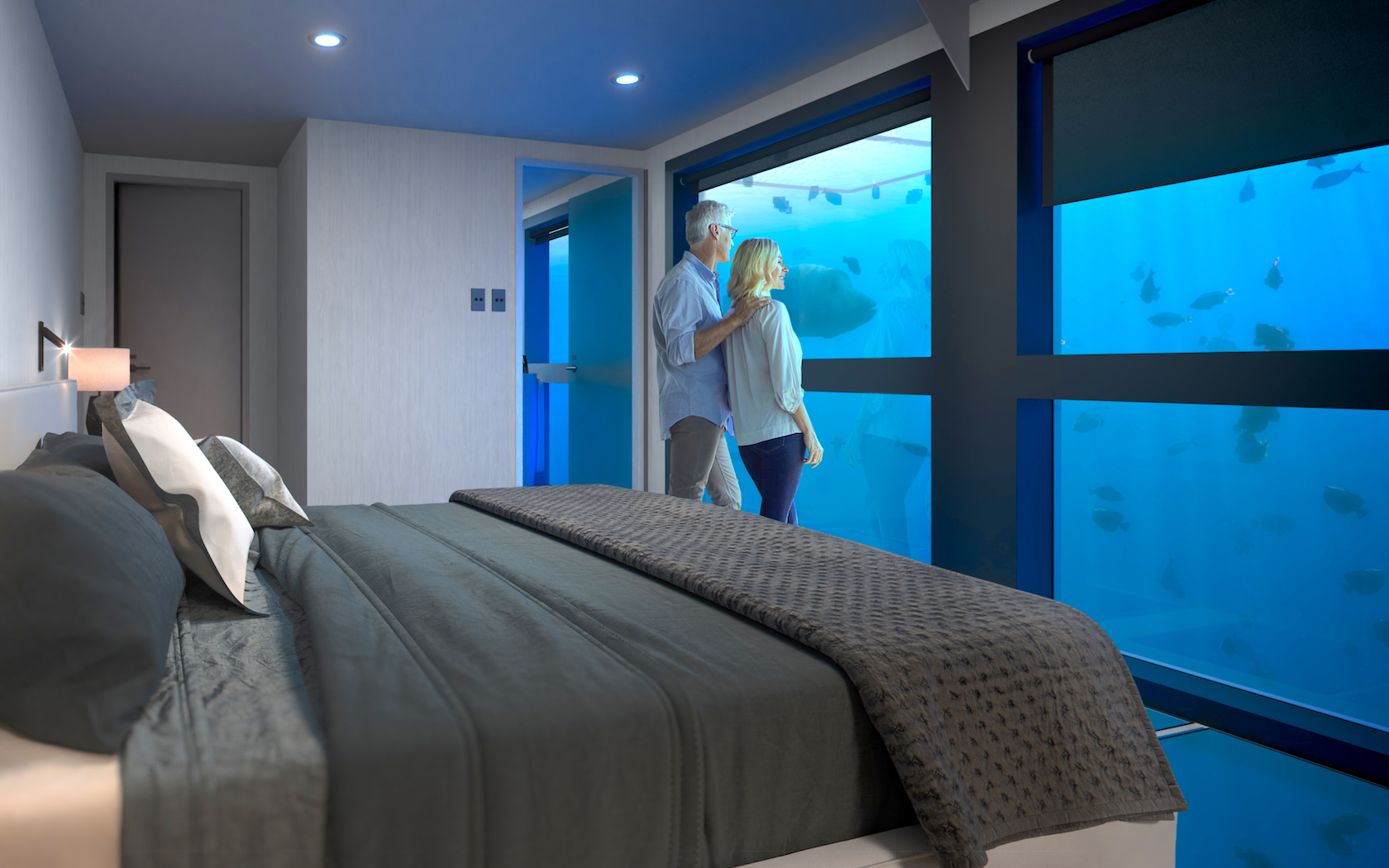 An Underwater Hotel Is Opening In The Great Barrier Reef