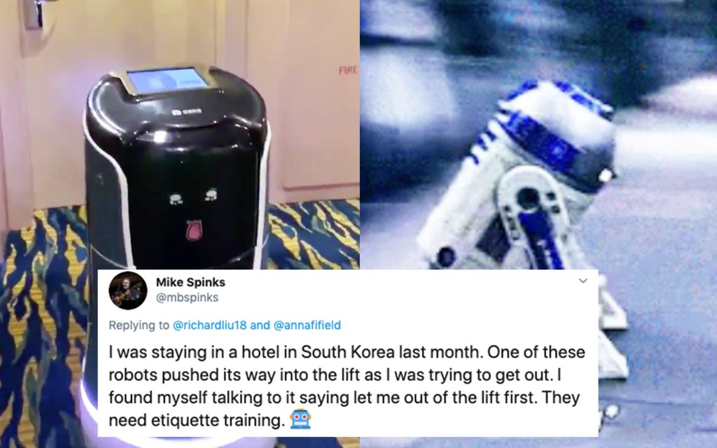 Room Service Robot: All The Best Reactions To This Cute Robot Butler