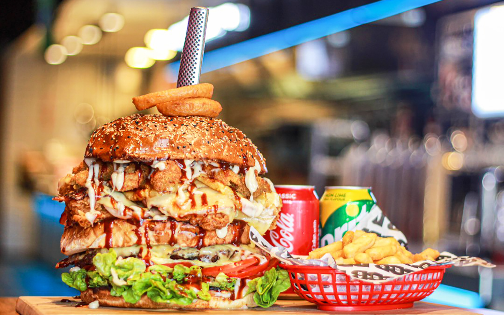 Beer And Burger Bar Could You Finish The Don 2 0 Food Challenge