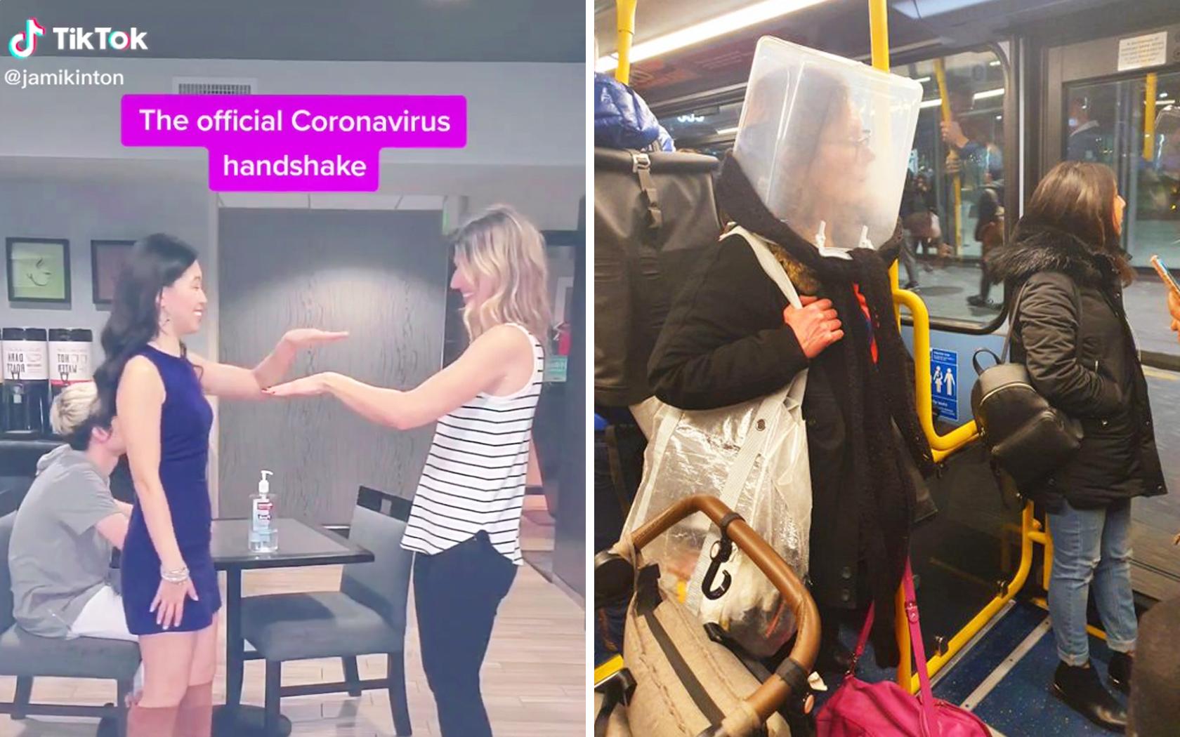 Coronavirus Protection The Funniest Most Bizarre Safety Precautions