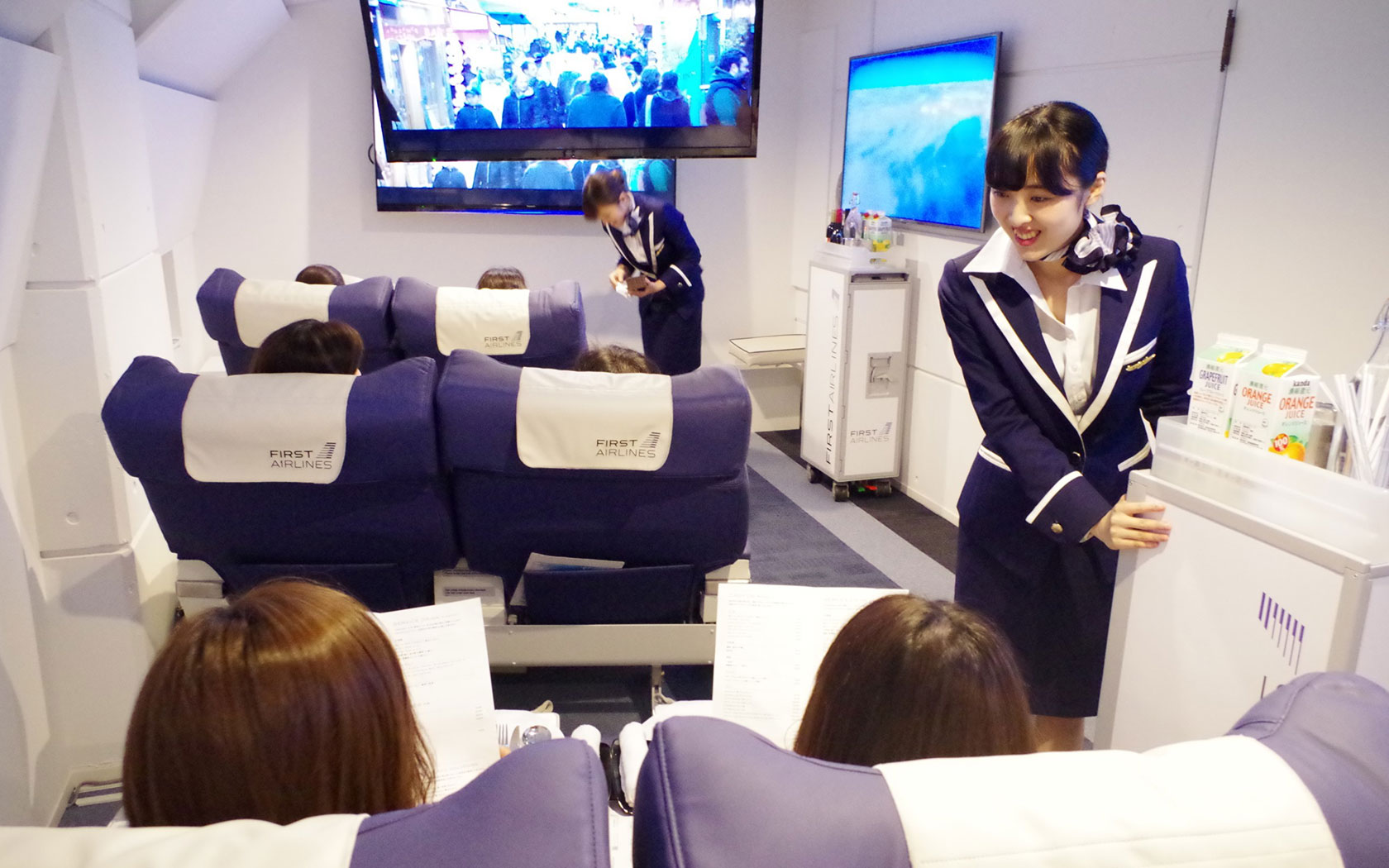 People In Japan Are Boarding Fake Planes To Cure Their Closed Border Blues